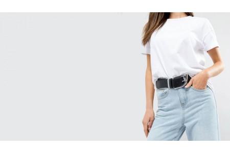 Какой выбрать ремень к женским джинсам?