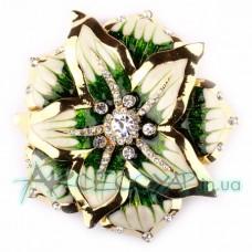 Пряжка для ремня женская цветок 184