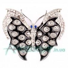 Пряжка женская для ремня бабочка 408
