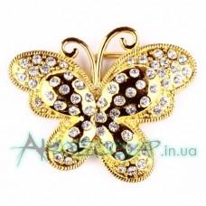Пряжка женская для ремня бабочка 428