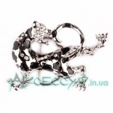 Пряжка женская для ремня ягуар 274