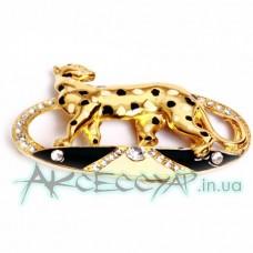 Пряжка женская для ремня гепард 282