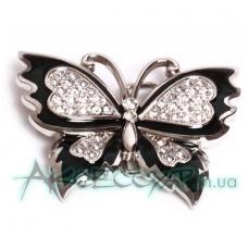 Пряжка женская для ремня бабочка 542