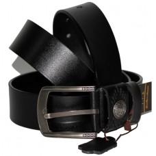 Джинсовый кожаный ремень UNIVERSAL черный