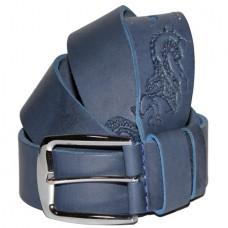 Кожаный джинсовый ремень ARISTOCRAT 16