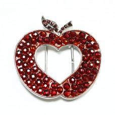 Пряжка женская для ремня яблоко 473