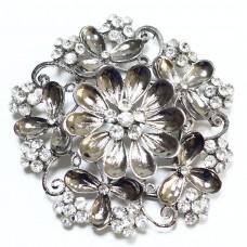 Пряжка для ремня женская цветок 487