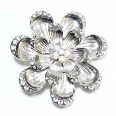 Пряжка для ремня женская цветок 625