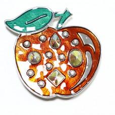 Пряжка женская для ремня яблоко 590