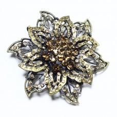 Пряжка для ремня женская цветок 482